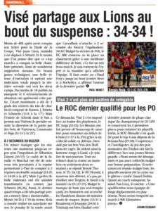 La Meuse - Liège - Basse- Meuse du 24022020 - BeNe-League + D1 - D2 nationale + D1 LFH - Compte-rendu